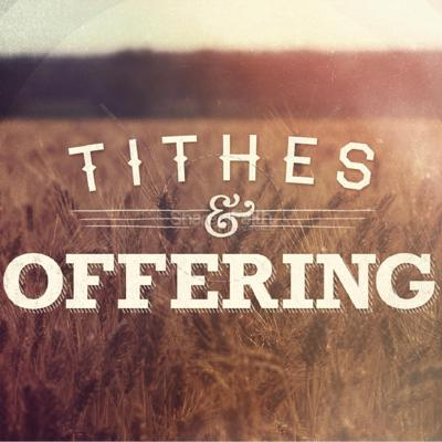 Cover art for Tithe and Offering 5A