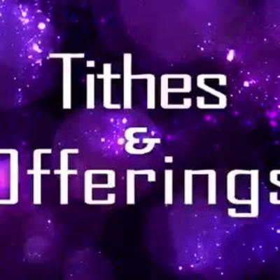 Cover art for Tithe and Offering Part 1B