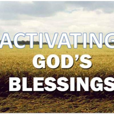 Cover art for ACTIVATING GOD BLESSING