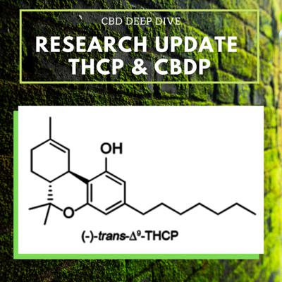 Cover art for Research Update: New Phytocannabinoids THCP and CBDP