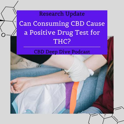 Cover art for Can Consuming CBD Cause a Positive Drug Test for THC?