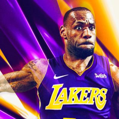 Cover art for Lebron to LA?