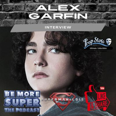 Cover art for Alex Garfin aka Jordan Kent from CW's Superman & Lois joins me to talk about becoming Superman's Son