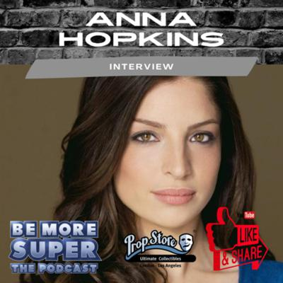 Cover art for The Expanse star Anna Hopkins joins me this week to chat about her awesome career!.