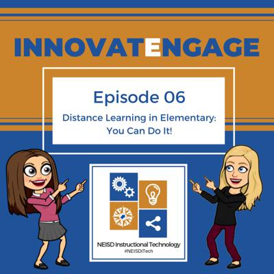 Cover art for Ep. 06 Distance Learning In Elementary: You Can Do It!
