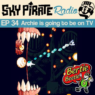 Cover art for Ep34 Archie is going to be on TV