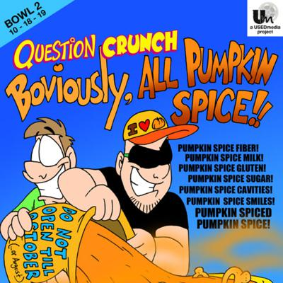 Cover art for 2. Boviously, All Pumpkin Spice