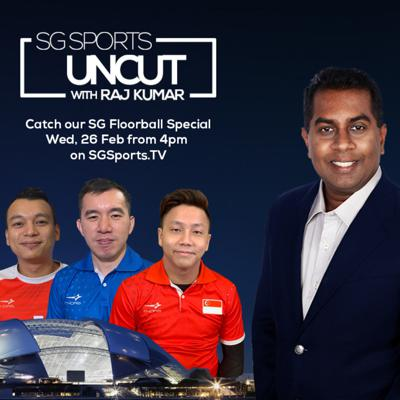 Cover art for #SGSportsUncut [Ep 14] : SG FLOORBALL on Budgets, Local League, Playing Venues & the Future