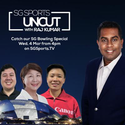 Cover art for #SGSportsUncut [Ep 15] : SINGAPORE BOWLING on PWBA, Youth Dev, Men's Team's Update & Cherie Tan's Award