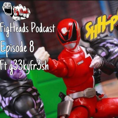 Cover art for FigHeads Podcast Episode 8 Special Guest: g33kyfr3sh