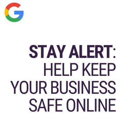 Cover art for Stay Alert: Help Keep Your Business Safe Online