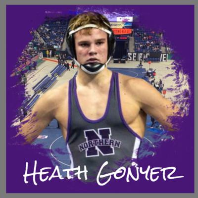 Cover art for Heath Gonyer- Northern Guilford High School (138LBS) STATE CHAMPION