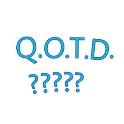 Cover art for Ep16: The Q.O.T.D. Is the Prerogative of the Day!!!!