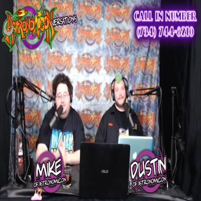 Cover art for Astronomiconversations with Mike & Dustin #Astronomicon 1-22-2020