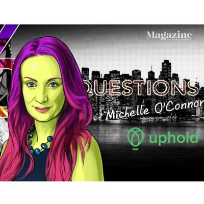 Cover art for Uphold's Michelle O'Connor