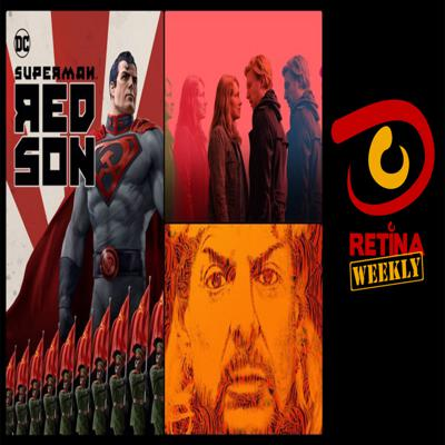 Cover art for Retina: Weekly #31 - Superman: Red Son, Tiger King and Run