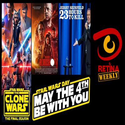 Cover art for Retina: Weekly #34 - Jerry Seinfeld - 23 Hours to Kill, Bloodshot and Star Wars Day