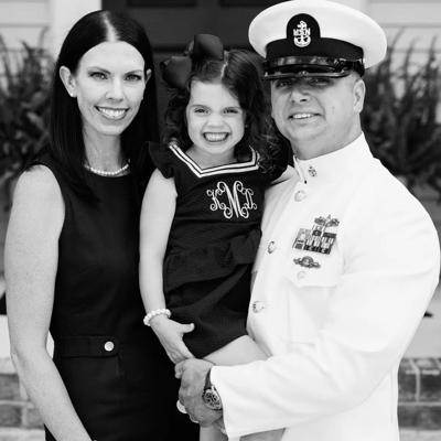 Cover art for Jason and Brandi McNeely, Heroic Apparel, Toano; Active duty military, corporate America, and a 4 year old and new business!