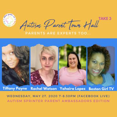 Cover art for Autism Parent Town Hall (Sprinter Edition/Special Edition 2)