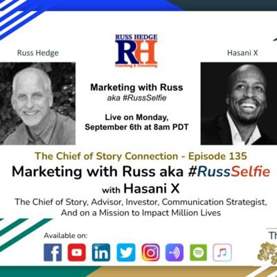 Cover art for Marketing with Russ... aka #RussSelfie with Hasani X - Episode 135