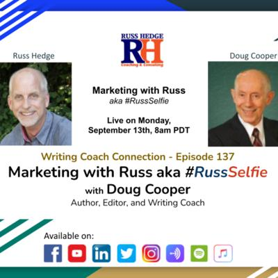 Cover art for Marketing with Russ... aka #RussSelfie with Doug Copper - Episode 137