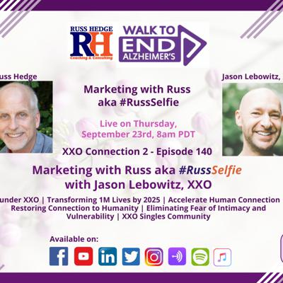 Cover art for Marketing with Russ... aka #RussSelfie with Jason Lebowitz - Ep. 140
