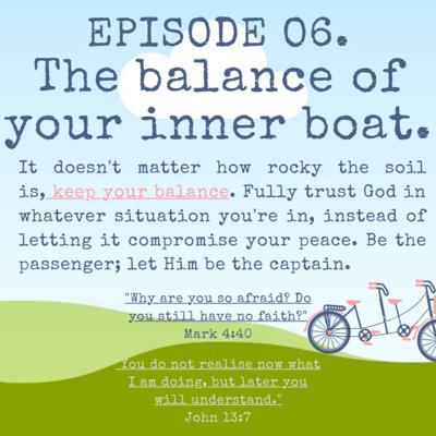 Cover art for #06. The balance of your inner boat.