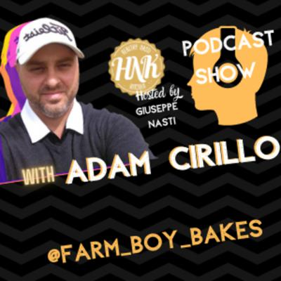Cover art for Adam Cirillo the market Gardener that bakes for the friends and family