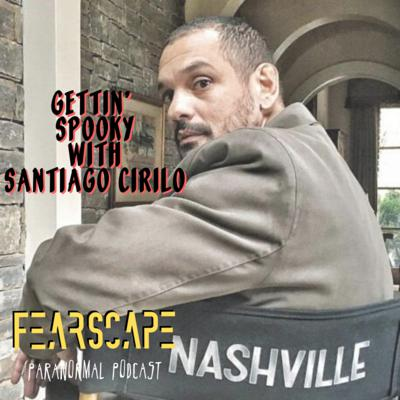 Cover art for Gettin' Spooky with Santiago Cirilo