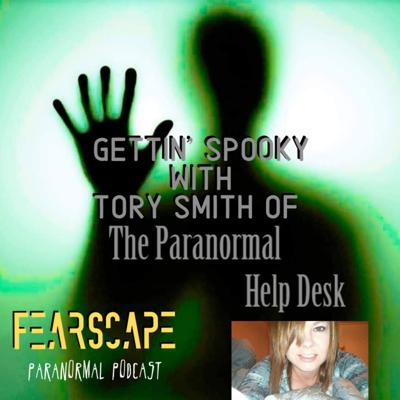 Cover art for Gettin' Spooky with Tory Smith of The Paranormal Help Desk