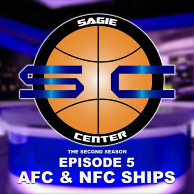 Cover art for SagieCenter Episode 5: NFC & AFC championship. Brooklyn 3 Problems
