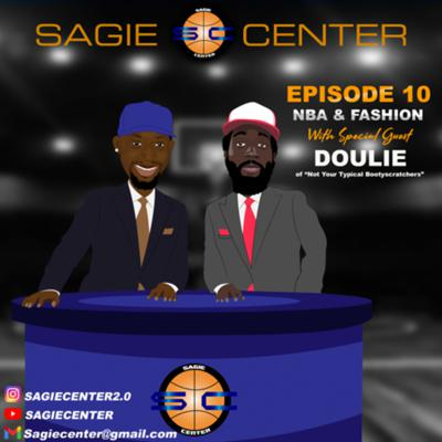 Cover art for Sagiecenter episode 10 with Doulie