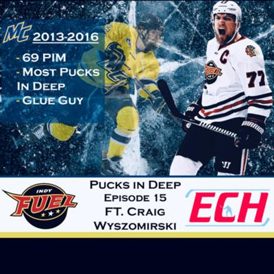 Cover art for Episode #15 Pucks in Deep Feat. Craig Wyszomirski