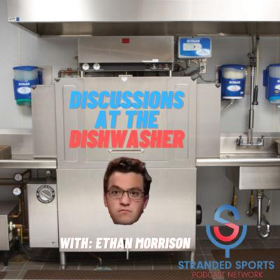 Cover art for Discussions at the Dishwasher Ep 2: Pirates Moves, Olympics w/ A Special Guest, Twitter Beef!