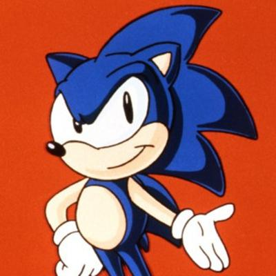 Cover art for Sonic The Hedgehog - Animated and movie history