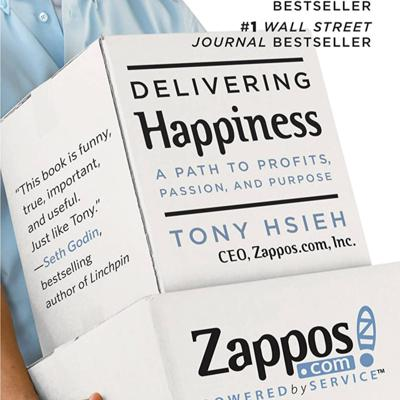 Cover art for Delivering Happiness Book Summary   Author Tony Hsieh