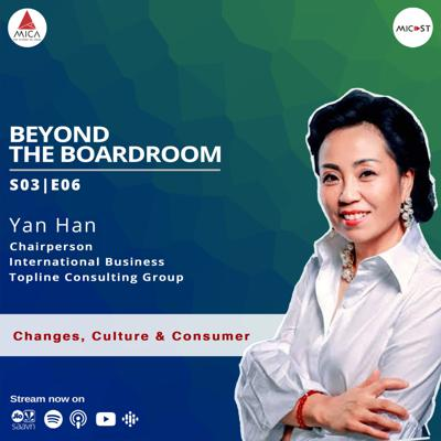 Cover art for S03 E06 | Ms. Yan Han | Changes, Culture & Consumer