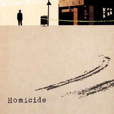 Cover art for Homicide
