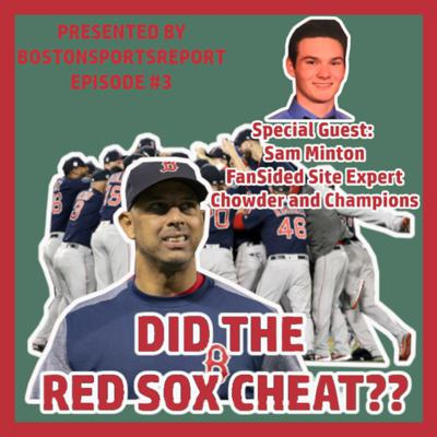 Cover art for DID THE RED SOX CHEAT IN 2018??