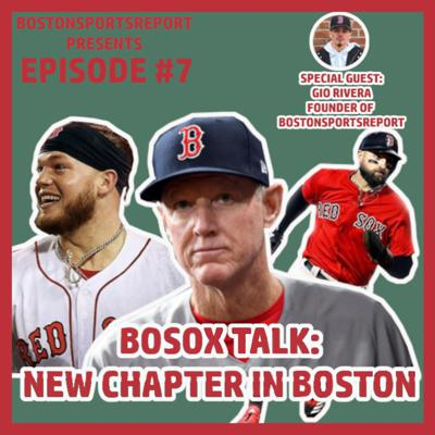 Cover art for Red Sox 2020 Season Overview w/ Gio Rivera, Founder of BostonSportsReport