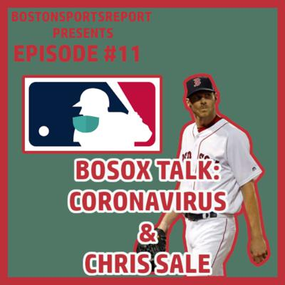 Cover art for CORONAVIRUS CONCERNS & CHRIS SALE'S GETTING TOMMY JOHN - EPISODE #11