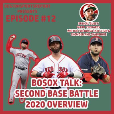 Cover art for SECOND BASE BATTLE PREVIEW W/ SPECIAL GUEST MARK CHEKARES - EPISODE #12