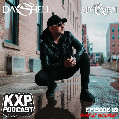 Cover art for Episode #10 - Shayley Bourget (Dayshell/Of Mice & Men)
