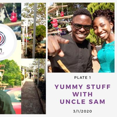 Cover art for Yummy Stuff with Uncle Sam