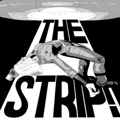 Cover art for The Strip! The Case of The Martian's Courier