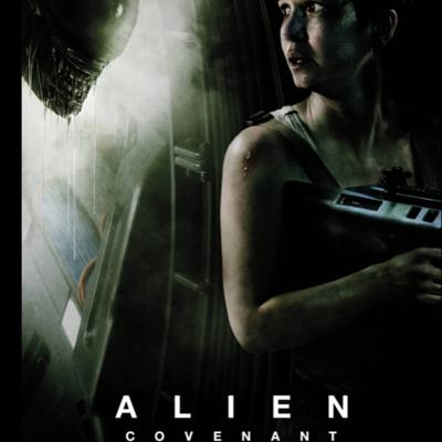 Cover art for Alien covernant movie review and summary WITH-spoilers