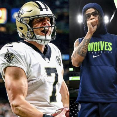 Cover art for Saints QB Situation / Winners & Losers: 2020 NBA Trade Deadline Edition