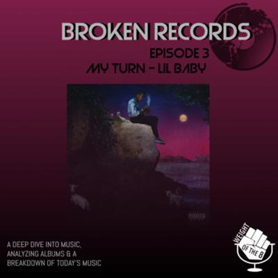 Cover art for Broken Records: My Turn