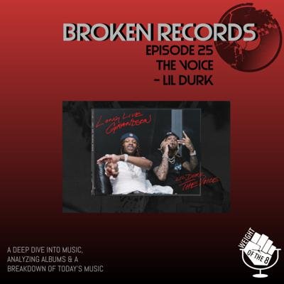 Cover art for Broken Records: The Voice