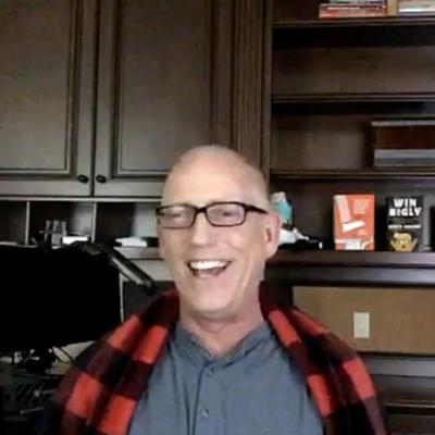 Cover art for Episode 987 Scott Adams: Queen of Dragons McEnany, Manufactured News, Trump's Performance, Hydroxychloroquine, Flynn